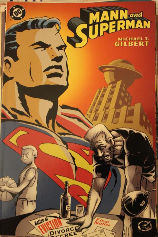 Mann and Superman nn NM/MT