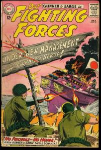 OUR FIGHTING FORCES #77-JOE KUBERT COVER G