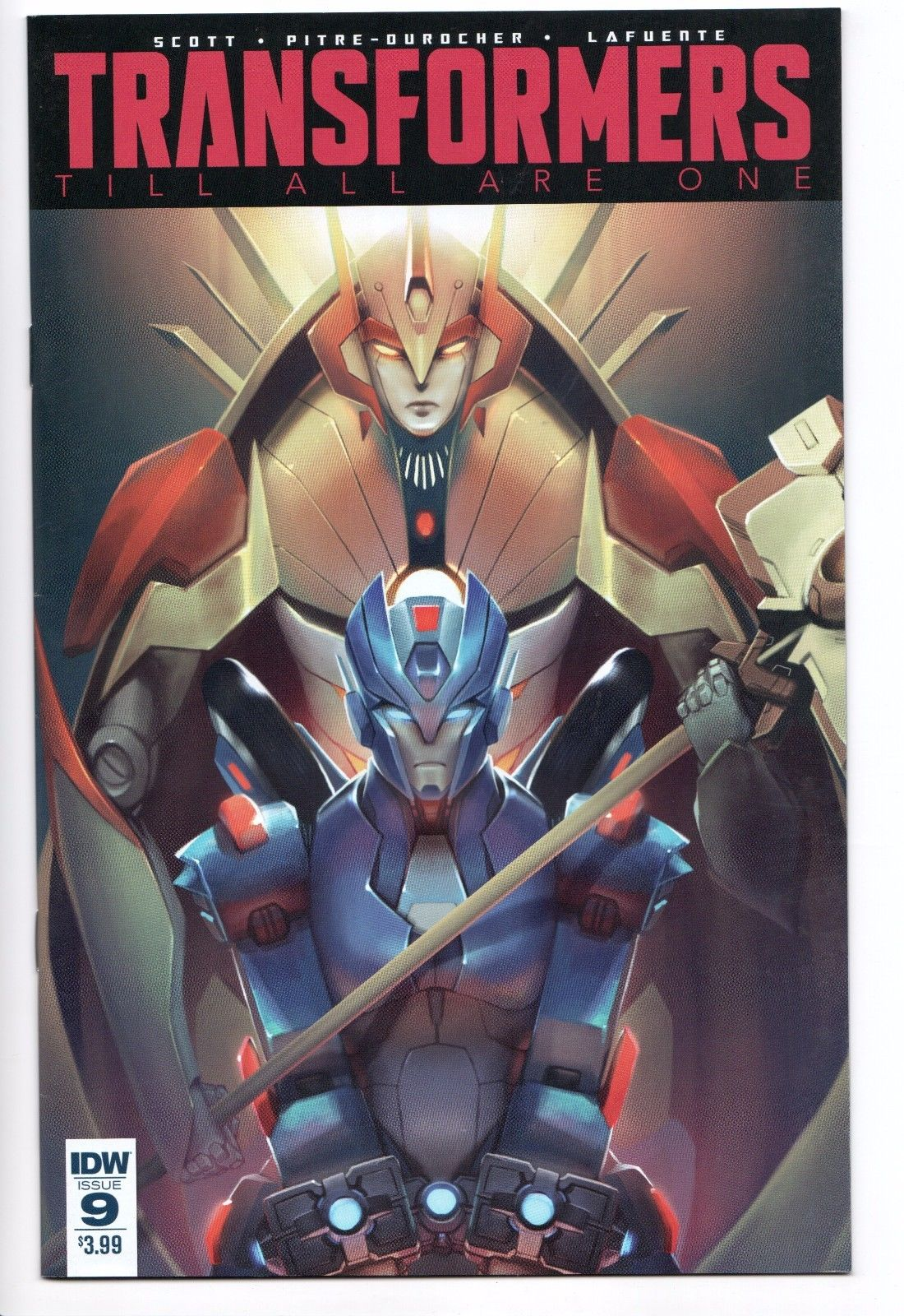 Transformers Till All Are One #10 2017 VF Stock Image