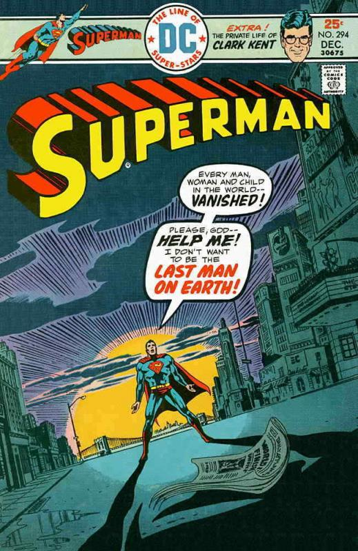Superman (1st Series) #294 VG; DC | low grade comic - save on shipping - details