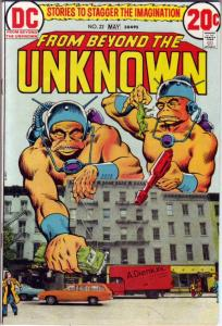 From Beyond the Unknown #22 (May-73) VF High-Grade Star Rovers