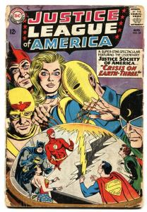 JUSTICE LEAGUE OF AMERICA #29-1st appearance of Starman-DC Silver-Age g-