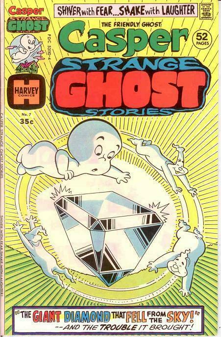 CASPER STRANGE GHOST STORIES (1974-1977) 7 VF COMICS BOOK