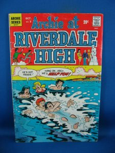 ARCHIE AT RIVERDALE HIGH 3 VG+ 1972