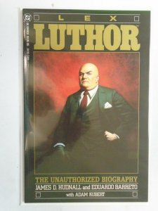 Lex Luthor The Unauthorized Biography #1 8.0 VF (1989)