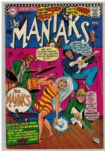 SHOWCASE  69 GOOD July 1967  MANIAKS