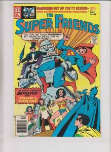 Super Friends #2 VF- december 1976 - superman - batman  wonder woman  bronze age