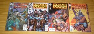 Dead Or Alive: A Cyberpunk Western #1-4 VF/NM complete series ALEX HORLEY weird
