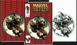Marvel Zombies Resurrection 1 PRE-SALE Mico ASM 300 McFarlane Wolverine  C2E2