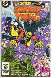 Saga of The Swamp Thing #27 1984-DC-Demon-Bissette-Totleben-Alan Moore-VF