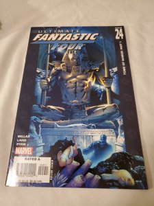 Ultimate Fantastic Four 24 Near Mint- Cover by Greg Land