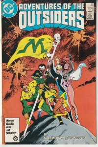Adventures of The Outsiders # 33  Baron Bedlam, Masters of Disaster !