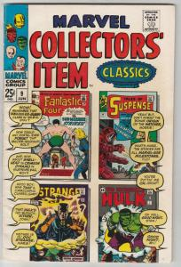 Marvel Collectors' Item #9 (Jun-67) VF+ High-Grade Fantastic Four, Mr. Fantas...