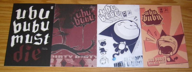 Ubu Bubu #1-4 VF/NM complete series CUTE KITTY POSSESSED BY DEMON apocalypse set