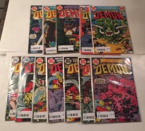 Th Demon 12 Book VG/FN Lot set Run 3 4 5 6 8 10 11 12 13 14 15 16