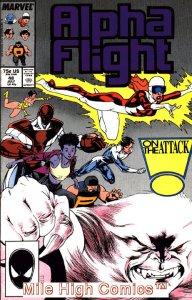 ALPHA FLIGHT (1983 Series)  #48 Very Fine Comics Book