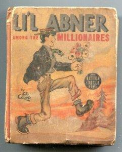 Li'l Abner Among the Millionaires Big Little Book 1939