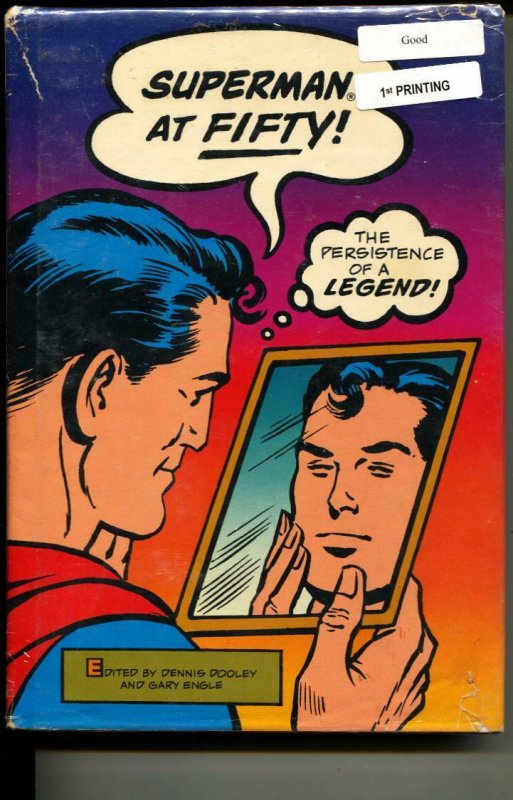 Superman At Fifty hardcover sealed