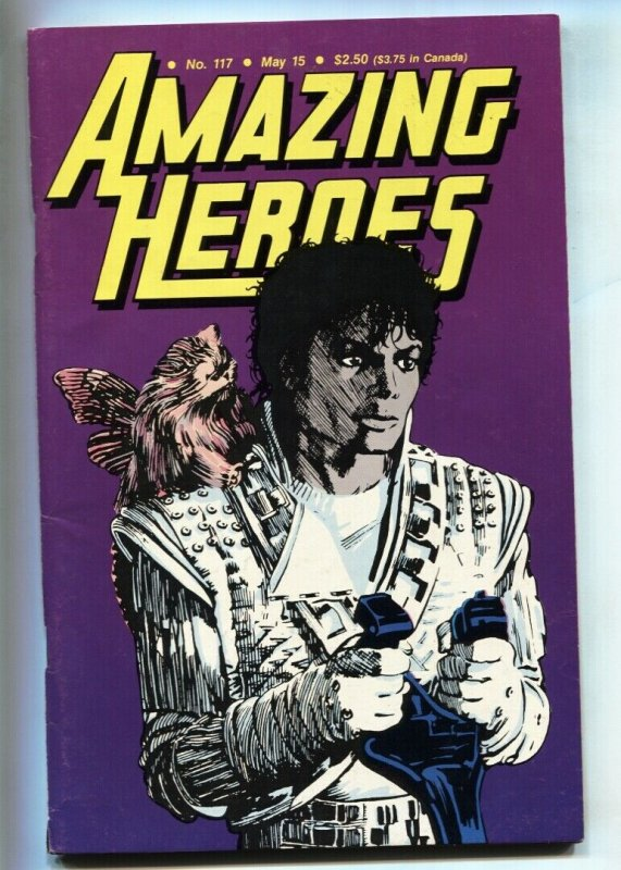 Amazing Heroes #117 1987 Michael Jackson - Captain E-O issue