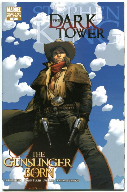 STEPHEN KING : DARK TOWER GUNSLINGER BORN #7, NM, Variant, 2007,more SK in store