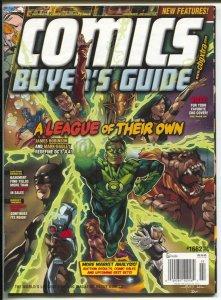 Comics Buyer's Guide #1662 2010-Green Lantern & DC characters-comic info & price