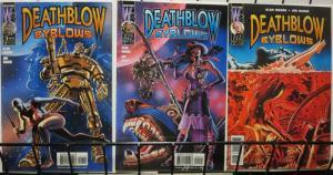 DEATHBLOW BYBLOWS(WS) 1-3 Alan Moore/Jim Baikie