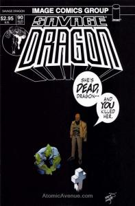 Savage Dragon, The #90 VF; Image | save on shipping - details inside