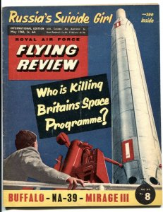 Royal Air Force Flying Review May 1960- Russia Suicide Girl
