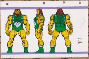 Official Handbook of the Marvel Universe Sheet- Ulik
