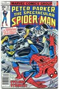 SPECTACULAR SPIDER-MAN #23 1978- Early Moon Knight appearance VF