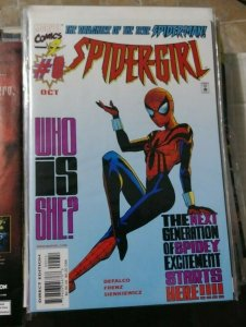 SPIDER-GIRL # 0 1998 MARVEL what if 105 THE DAUGHTER OF THE TRUE SPIDERMAN
