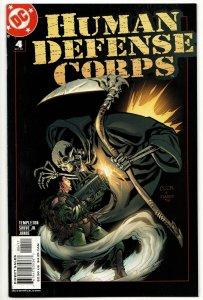 Human Defense Corps #4 (DC, 2003) VF/NM