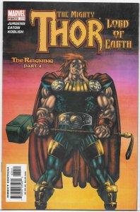 Thor (vol. 2 , 1998) #72/574 VF/NM (Reigning 4) Jurgens/Eaton