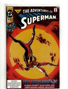12 Adventures of Superman DC Comics 480 481 482 483 484 485 486 487 488 + OF4