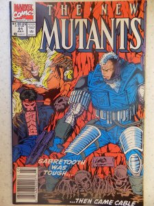 NEW MUTANTS # 91 LIEFELD HOT MOVIE