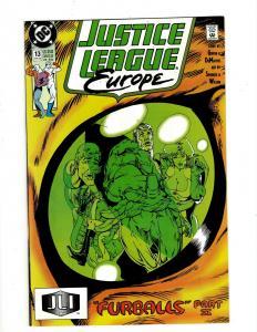 Lot of 12 Justice League Europe Comics #13 14 15 16 17 18 19 20 21 22 23 24 J404
