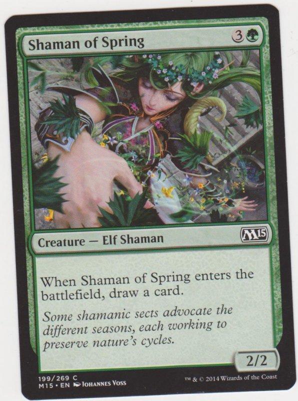 Magic the Gathering: Magic 2015 - Shaman of Spring