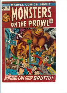 Monsters on the Prowl #18 - Bronze Age - Aug. 1972 (VG)