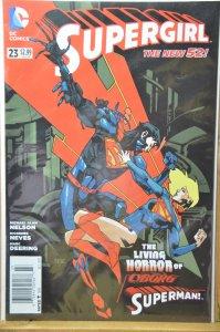 Supergirl #23 (2013) Cyborg Superman !