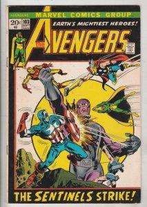 Avengers, The #103 (Sep-72) FN/VF Mid-High-Grade Avengers