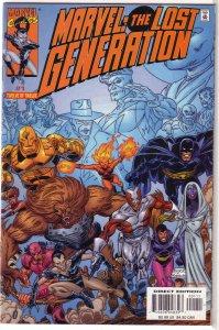 Marvel  : Lost Generation   #1 FN
