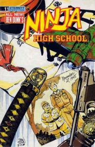 Ninja High School #11 VG; Malibu | low grade comic - save on shipping - details