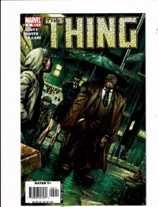 Lot of 2 The Thing Marvel Comic Books #5 7 BH51