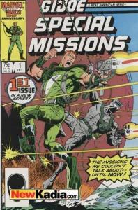 G.I. Joe Special Missions (1986 series) #1, VF (Stock photo)
