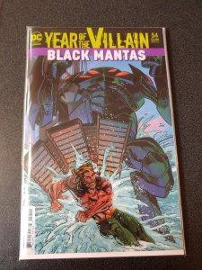 Aquaman #54 Year Of The Villain, Acetate COVER NM