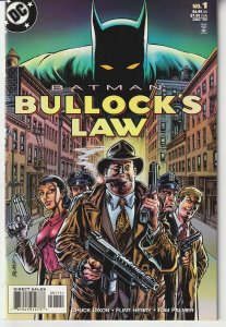 Batman – Bullock's Law One Shot   Bullock Lays Down The Law !