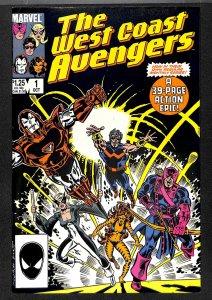 West Coast Avengers #1 (1985)