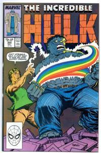 Incredible HULK #355, NM-, RainBow, Bruce Banner, 1968 1989, more Marvel in stor