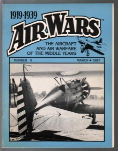 Air Wars #9 3/1987-Aircraft and air warfare of the middle years 1919-1939-combat