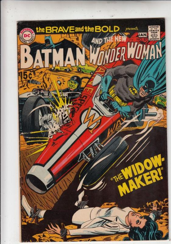 Brave and the Bold, The #87 (Jan-69) VF/NM High-Grade Batman